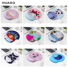 лучшая цена Mouse Pad Memory Foam Non Slip Mouse Pad and Keyboard Wrist Rest Support for Office Computer Laptop