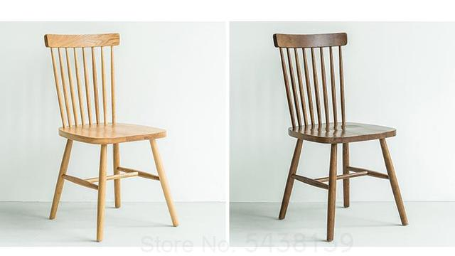 Windsor Backrest American Dining Chair 1