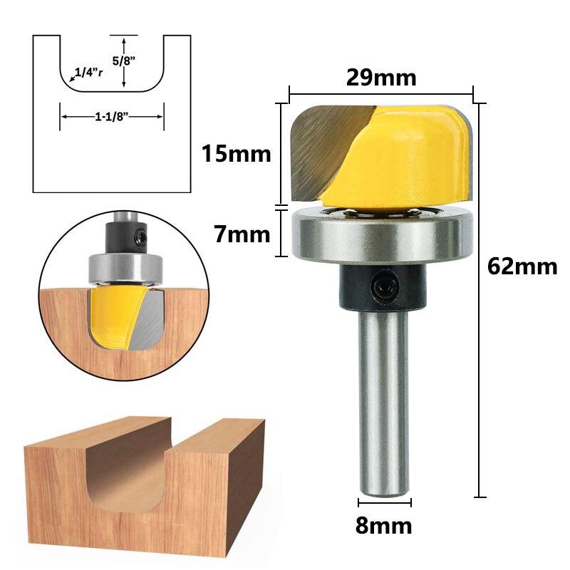 Diameter Bowl & Tray Router Bit