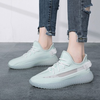Woman Casual Shoes Fashion Shoes Mesh Casual Shoes For Womens Light Sneakers Summer Outdoor Flats