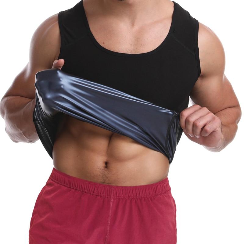 Men Shapewear Waist Trainer Vest Hot Sauna Suits Thermo Sweat Tank Tops Body Shaper Slimming Underwear Compression Workout Shirt 1