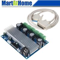 4 Axis TB6600 Stepper Motor Driver Board Replacement for CNC Machine Control Box HY KZX4A T68