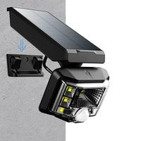 Leistungsstarke Solar Lampe Außen Motion Sensor Wand Licht Außerhalb Wasserdichte LED Lampe Solar Strahler Flutlicht für Garten Straße