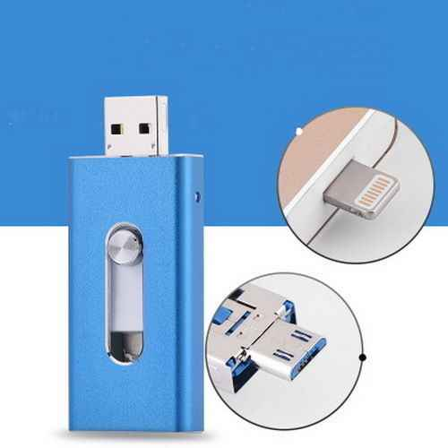OTG USB Flash sürücü USB Pendrive iPhone Xs için Max X 8 7 6 iPad 8/16/32/64/128/512GB Memory Stick USB anahtar MFi yıldırım Pendrive