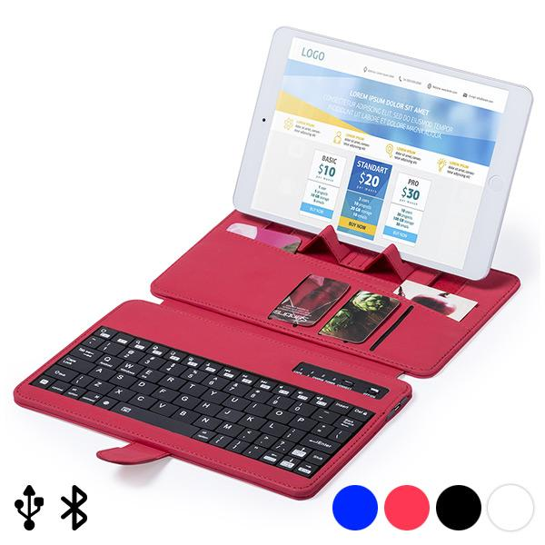 Bluetooth Keyboard With Support For Mobile Device 145739