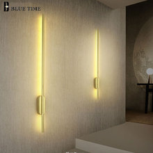 60cm 80cm 100cm 120cm Modern Led Wall Lamp Sconce Wall Light Barthroom Mirror Front Light For Barthroom Living room Bedroom Lamp