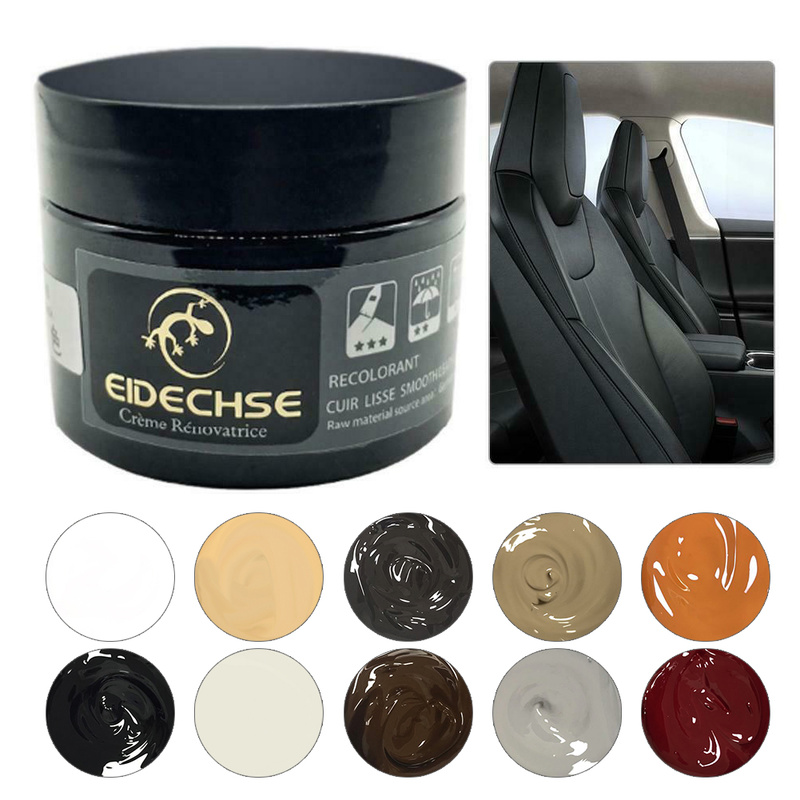 EIDECHSE Car Leather Repair Kit Auto Complementary Color Paste Car Seat Sofa Holes Scratch Cracks Rips Polish Paint Care Coating
