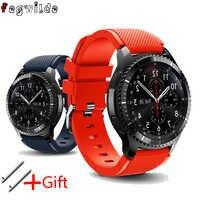 Strap For Samsung Gear S3 Frontier Galaxy watch 46mm active men watch straps 22mm silicone bracelet watchband huawei watch gt 2