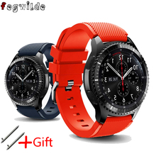 Galaxy watch 46mm Strap For Samsung Gear S3 Frontier active men watch