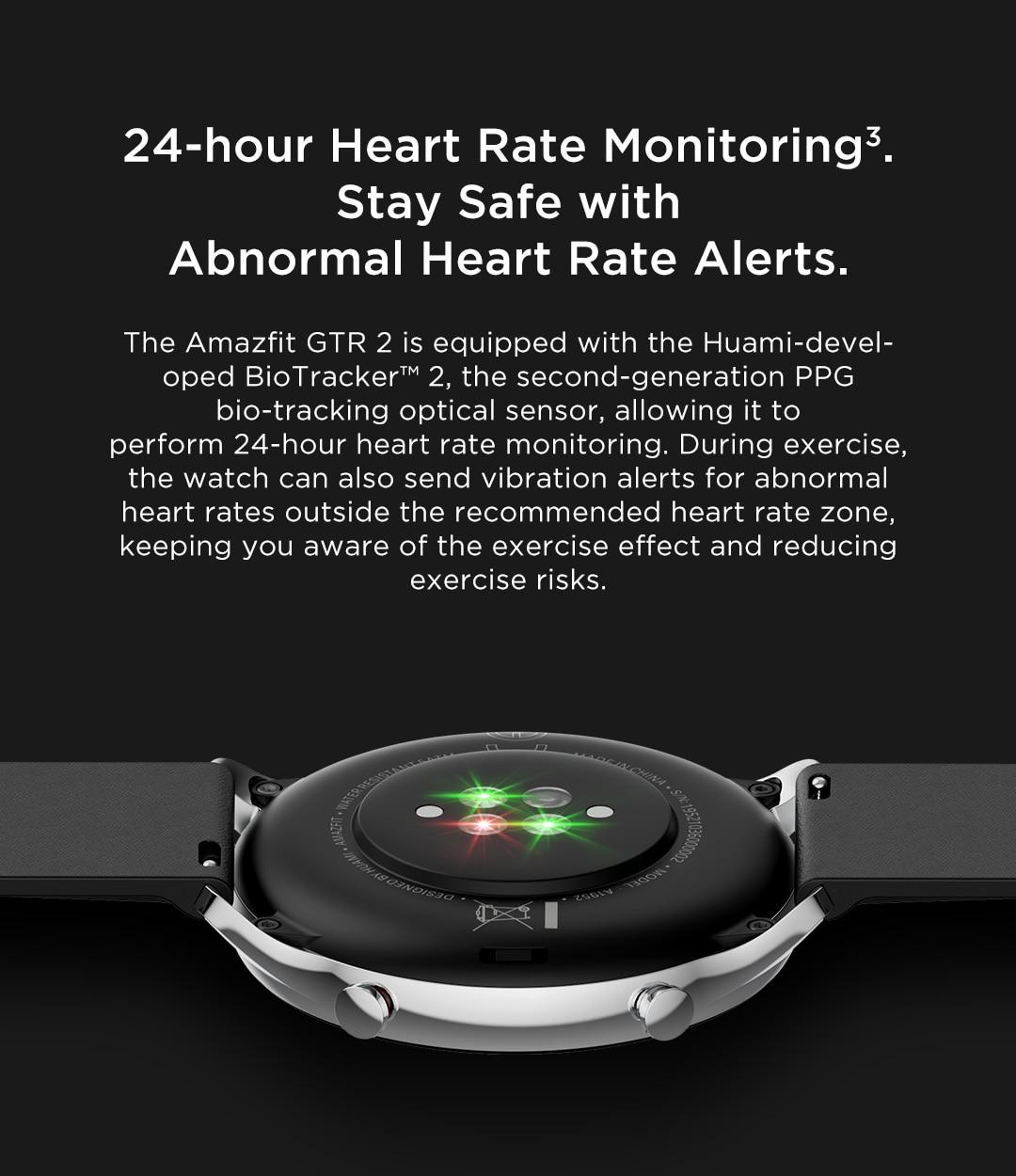 Novo amazfit gtr 2 smartwatch 14 dias