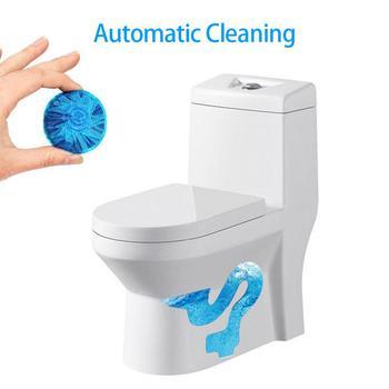 Potężny niebieski bańka wc automatyczne spłukiwanie duch środek czyszczący do wc dezodorant wc blok gospodarstwa domowego łazienka czyszczenie toalety tanie i dobre opinie Tablet 1 pc Inne 4 5*4 5*1 5 as the picture show 1*Toilet deodorant