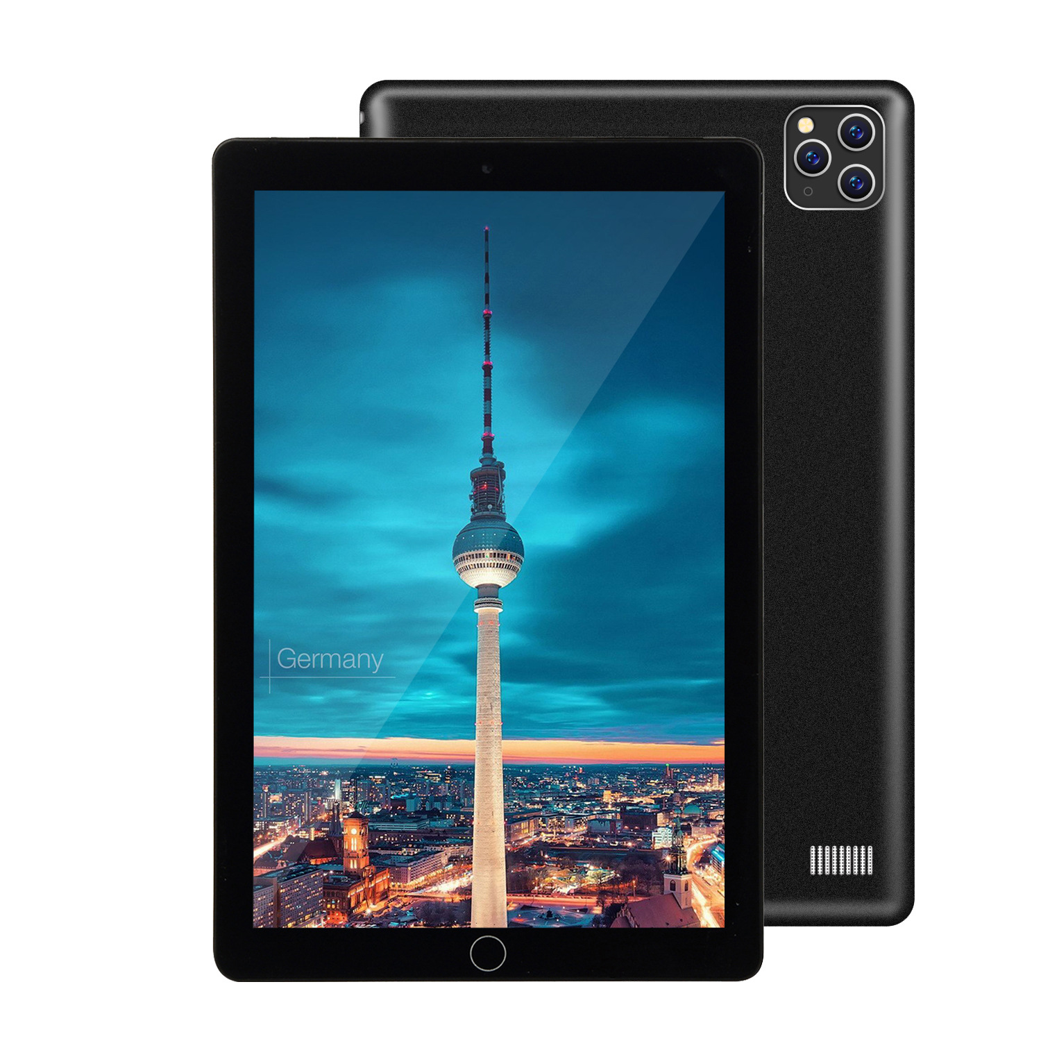 2020 New 10 Inch Three Cameras Tablet 6G+128GB Android 9.0 Tablet Pc Support 4G Dual Card Phone Call Kids Tablet Study Tablet