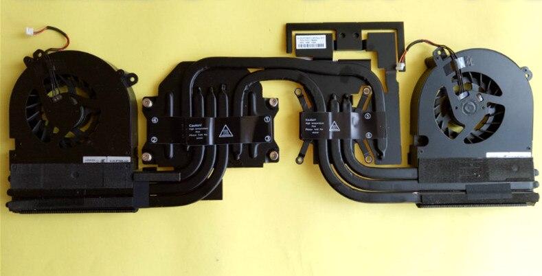 Nouveau dissipateur thermique et ventilateur pour Clevo ThundeRobot G155P P770 P771 6-31-P75D3-100