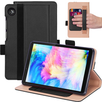 style protective For Lenovo Tab M7 TB-7305F Tablet Case Retro Style PU Leather Case Flip Stand Card Slots Protective Cover And Elastic Hand Strap (1)