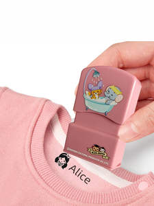 custom-made Baby Name Stamp DIY for children Name Seal student clothes chapter Not Easy