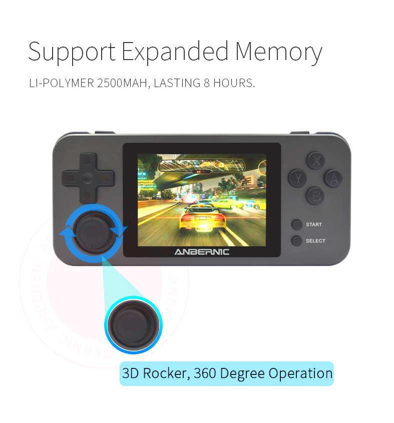 ANBERNIC RG350/RG350M/RG280M Retro Giochi video console di gioco 16G 64 bit PS1 video gioco portatil MINI RG280 consolas RG350P NUOVO