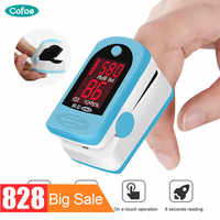 Oxymètre De sang d'impulsion De doigt De Cofoe pince De mètre d'oxygène Type SPO2 PR