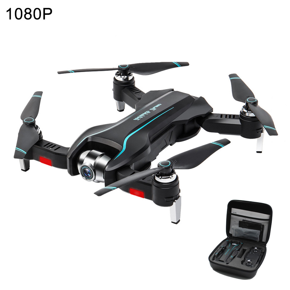 S17 WIFI HD Black Remote Portable FPV Drone RC Quadcopter Rechargeable Real Time Helicopter Foldable Kids Gift Dual Cameras Toys