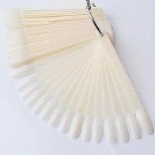 1 conjunto de unhas dicas limpar ventilador completo dedo cartão ferramenta prática da arte do prego ferramenta portátil jan88