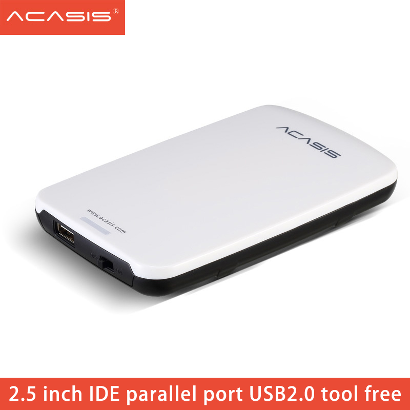 Acasis 2.5 Inch USB 2.0 To IDE PATA HDD Box Portable External HD Hard Drive Hard Disk Case