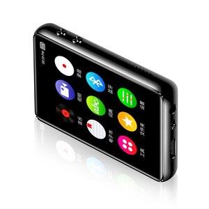Image 4 - Оригинальный металлический MP3 плеер Bluetooth 5,0, сенсорный экран 2,4 дюйма, встроенный динамик 16 ГБ, электронная книга, Радио, запись, воспроизведение видео