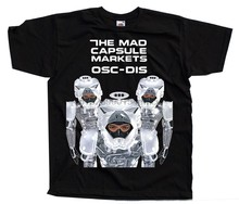Mad Capsule Markets - Osc-Dis album cover DTG T-SHIRT (NERO) S-5XL(China)