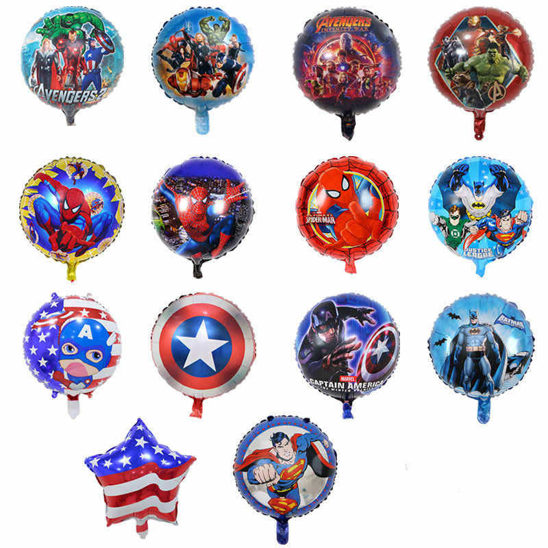 Super-herói inflável balão de hélio decoração de festa de aniversário do casamento balões de papel de parede