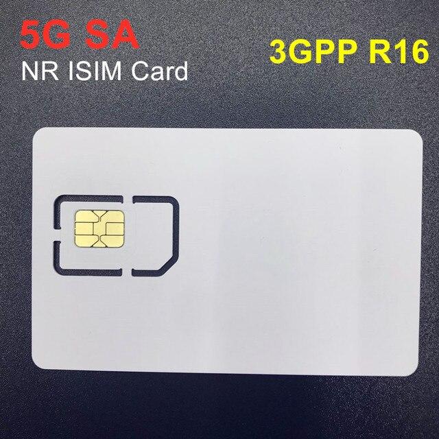 OYEITIMES Programable Blank 5G NR ISIM Card Mini Nano Micro Writable 5G ISIM Card for 5G SA 3GPP R16 5G Environment Operators
