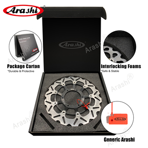 Image 5 - Arashi 1 para dla SUZUKI GSXR1000 GSXR 1000 2005 2006 2007 2008 CNC przednia tarcza hamulcowa wirniki hamulcowe GSX1000R GSX R GSXR 600 750