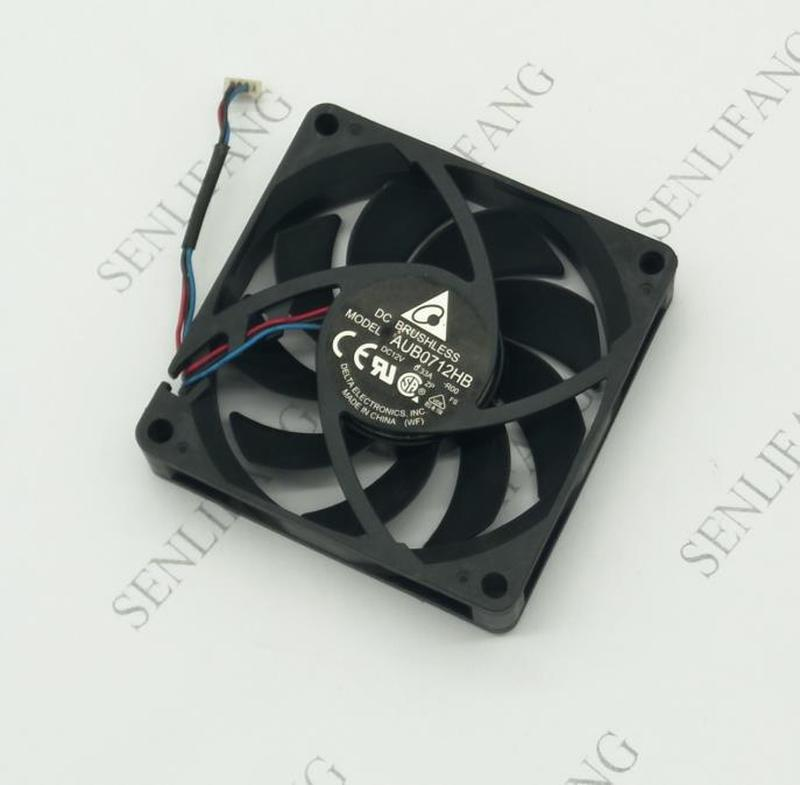 For Original For Delta AUB0712HB-R00 12V 0.33A 7015 7cm 70 * 70 * 15MM Projector Chassis Cooling Fan