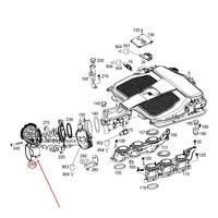 Car Air flow meter hose Suitable for S 300mer ced es be nzS 350 ML300 ML350 CLS350 E 350 E 400 R 350 Air duct