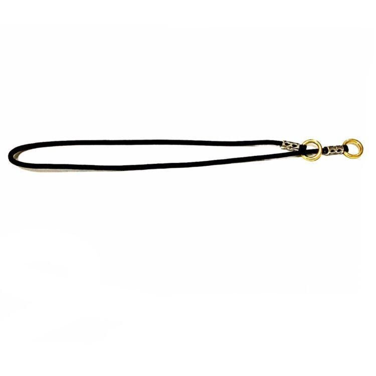 Flat New Style Black And White With Pattern Industry Game Hand Holding Rope Import Nylon P Pendant Training Rope Golden Retrieve
