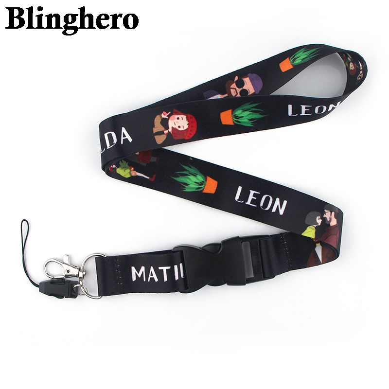 CA380 Leon Neck Strap Lanyard For Keys ID Card Mobile Phone Straps USB Badge Holder Neck Strap Hang Rope DIY Fashion Jewelry