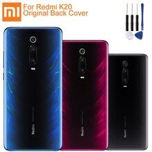 Original XiaoMi Glass Battery Rear Case For Xiaomi Mi Redmi K20 Phone Backshell Back Cover Cases
