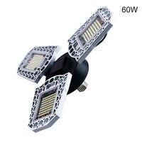 Neue LED Garage Lichter Scheune Licht LED Garage Beleuchtung Verformbaren Licht 6500K 60W Decke Lampe LED Arbeits Licht