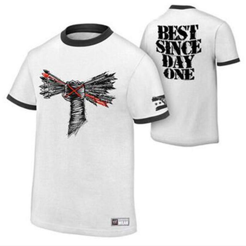 2020 Summer Fashion New Wrestling CM Punk Short-Sleeved T-Shirt, Wrestling Characters Printed T-shirt Men European Size XS ~ XL