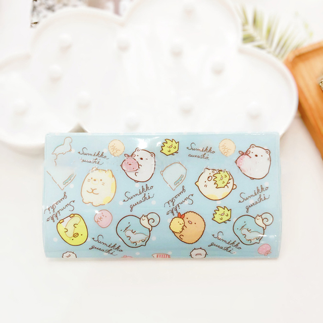 2pcs Cartoon Face Mask Storage Box Portable Snap-type Dust-proof Mask Case Container Disposable Mask Box Dropshipping 3