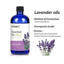 KIUNO 150ML Lavender Water-soluble Flower Fruit Tea Tree Rose Essential