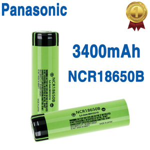 2020 New 100% Original 18650 battery NCR18650B 3.7v 3400mah Lithium Rechargeable Battery For Electronic toy Flashlight batteries