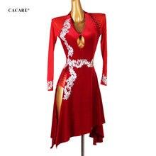 Платье cacare женское для латиноамериканских танцев пикантное