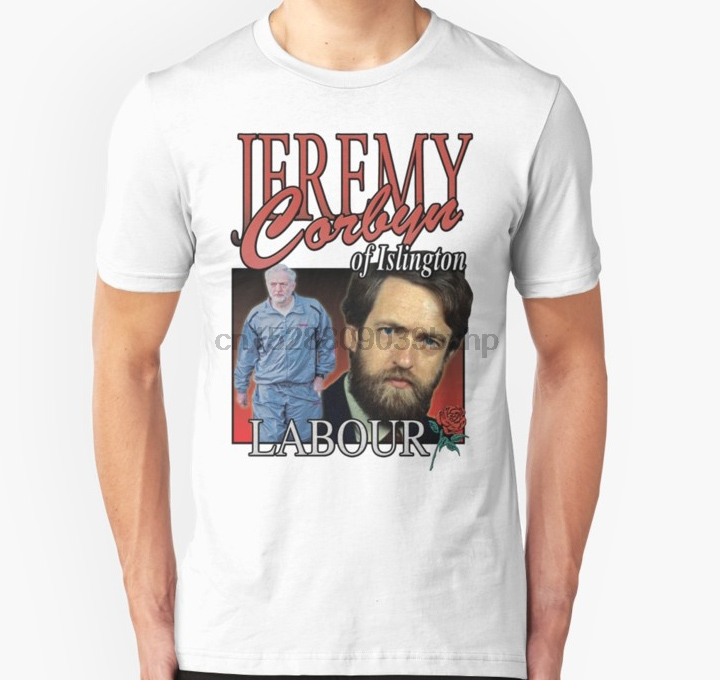 JEREMY CORBYN VOTE LABOUR  ELECTION MP Heavy Cotton t-shirt Small to XXL