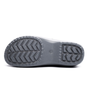 Image 4 - Hot Work Wear Kitchen Work Shoes Waterproof Flat Sandals for Chef Master Comfortable Restaurant Slippers Quick Dry Chef Shoes