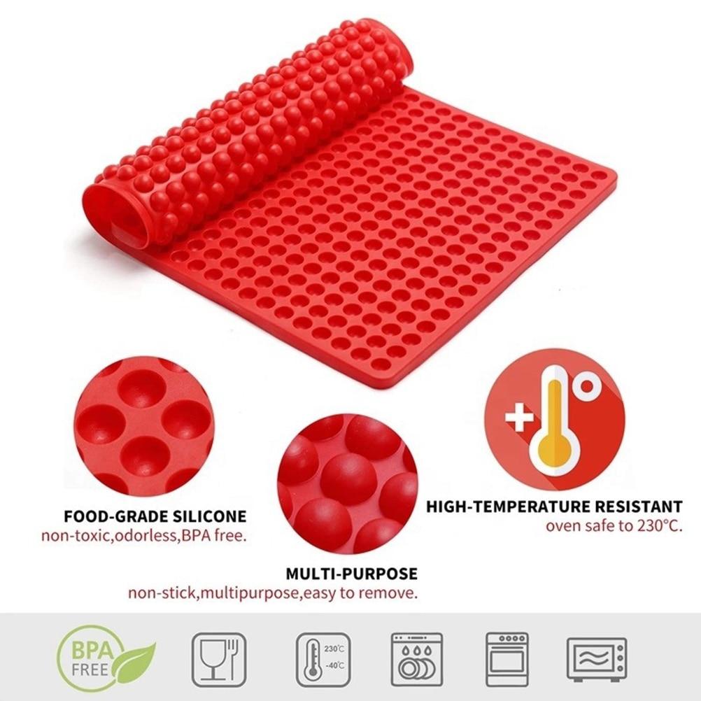 468 отверстия шар Сфера Pet силиконовые формы для шоколада выпечки круглая силиконовая форма для пирога оборудование для выпечки формы пудинг...