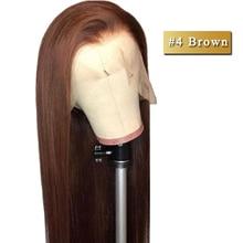 360 синтетический парик их натуральных волос парики 360 парик их натуральных волос для черных женщин 360 парики не Реми волос бразильские прямые волосы