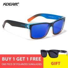 KDEAM Sport Men Sunglasses Polarized Customized Sun Glasses