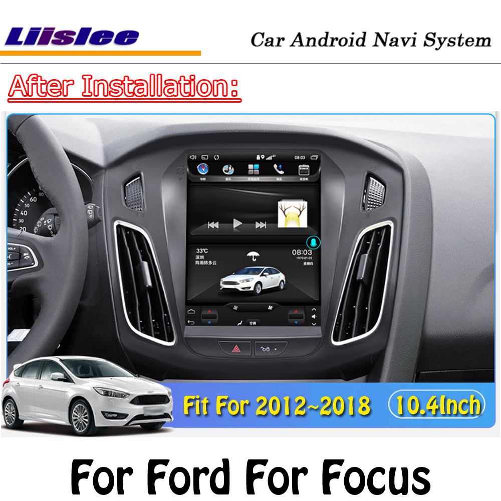 Car Android Multimedia For <font><b>Ford</b></font> <font><b>Focus</b></font> 2012 2013-2016 <font><b>2017</b></font> 2018 Radio Screen CD DVD Player GPS Car Auto <font><b>Navigation</b></font> System image