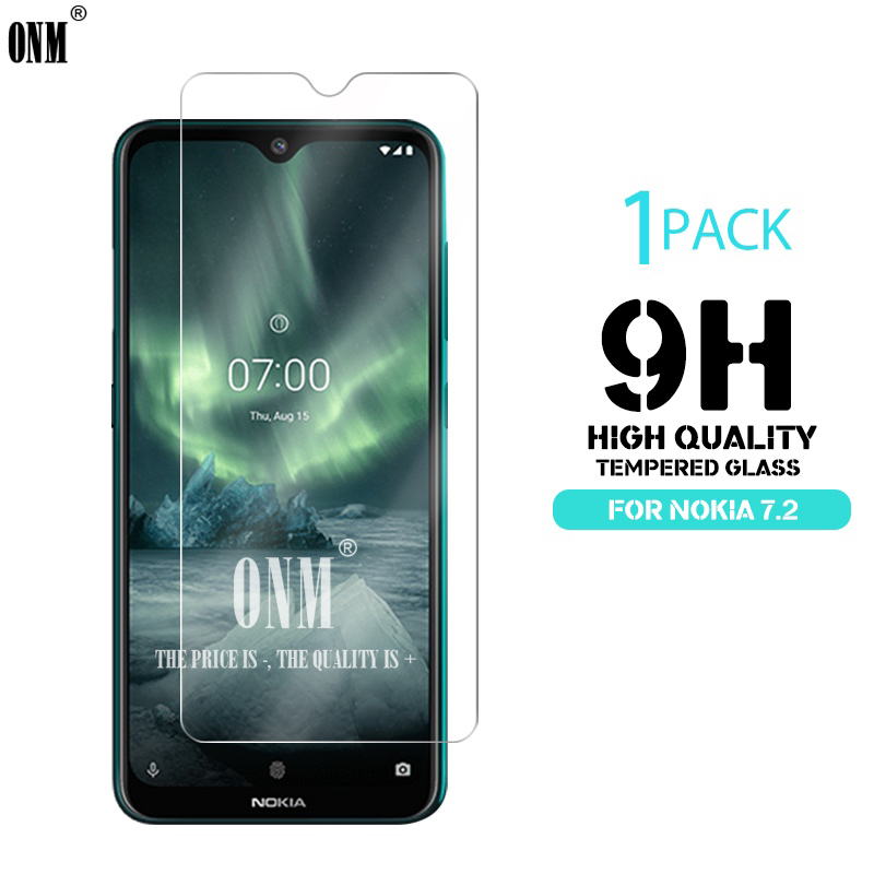 Tempered Glass For <font><b>NOKIA</b></font> 7.2 6.2 4.2 3 V 3.1 C 3.1 A 2.2 3.2 4.2 Screen Protector 9H Tempered Glass For <font><b>Nokia</b></font> 1 Plus <font><b>X71</b></font> Film * image