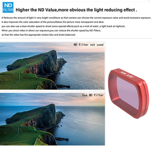 Image 4 - For DJI Pocket 2 Filter MC UV/CPL/ND 8 16 32 64 PL/Colour Filters Protection Case For DJI Osmo Pocket Handheld Camera Accessries