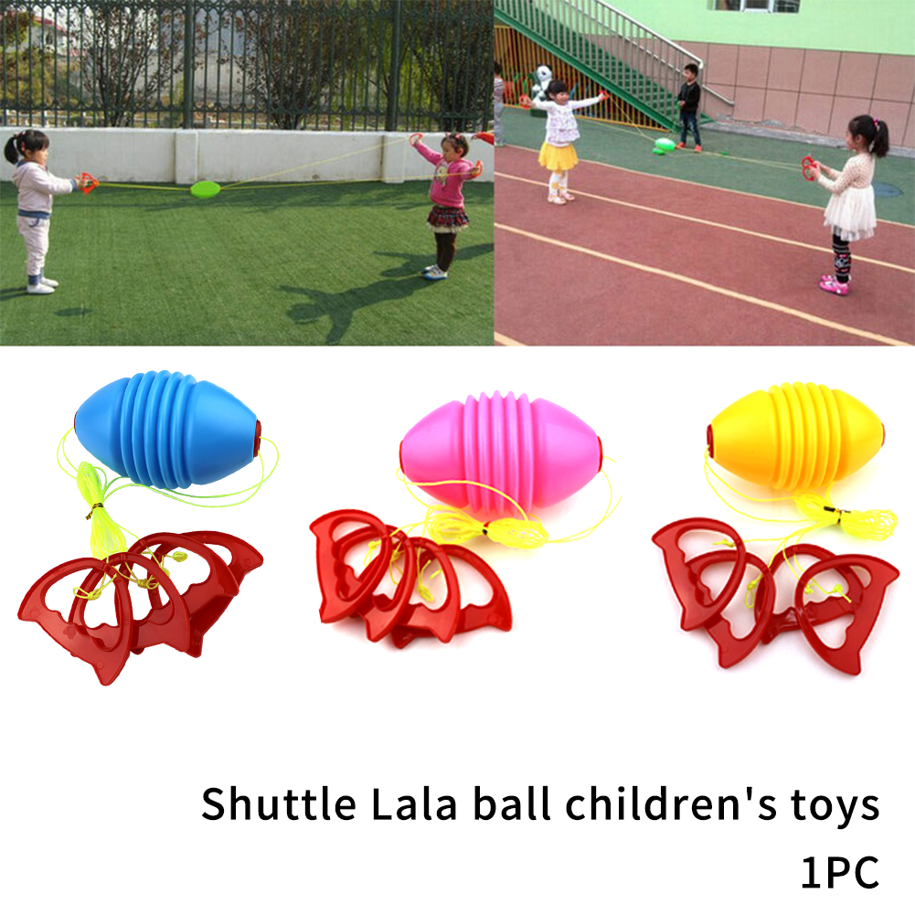 Indoor Game Training Educational Throwing Kids Toy Coordinate Ability Brain Reaction Flexible Outdoor Jumbo Speed Pulling Ball