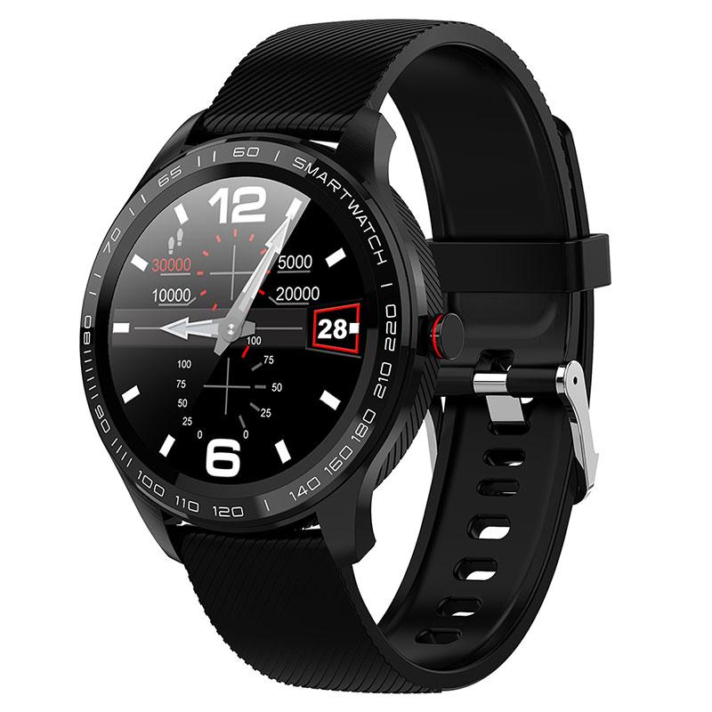 LOKMAT Smart Watch Full Touch Men ECG PPG Waterproof Bluetooth Heart Rate Blood Pressure Fitnesss Tracker Smartwatch For Xiaomi